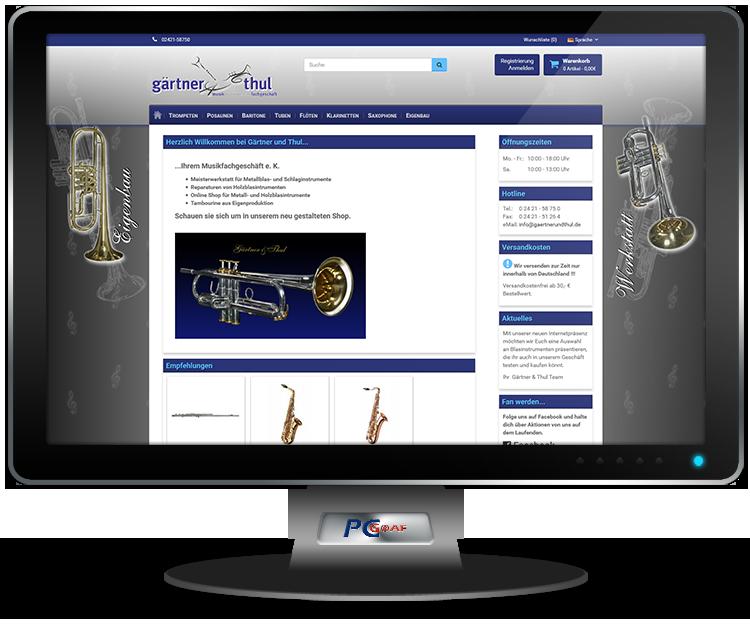 Gärtner & Thul Musikinstrumentenfachgeschäft